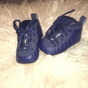 infant foamposite sneakers
